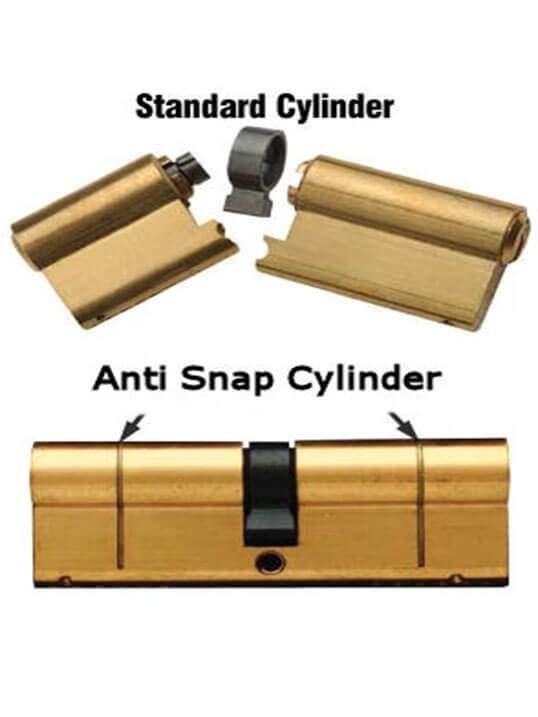 UAP Anti-Snap Euro Cylinder Nickel – Car Keys Repair Ireland